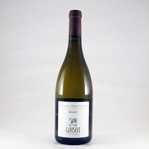 """Bourgogne Côtes d'Auxerre """"Biaumont"""" - 2015 (Jean-Hugues et Guilhem Goisot)"""