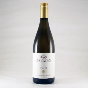 """Côtes du Rhône Villages Blanc """"Per El"""" - 2014 (Domaine Saladin)"""