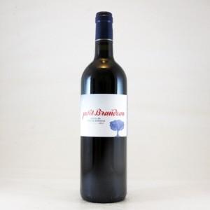 """Castillon-Côtes-de-Bordeaux """"Petit Brandeau"""" Rouge - 2015 (Château Brandeau)"""