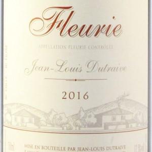 """Fleurie Cuvée Vieilles Vignes """"Tous Ensemble"""" - 2016 Magnum (Jean-Louis Dutraive)"""