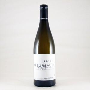 "Meursault ""En la Barre"" - 2014 (Antoine Jobard)"